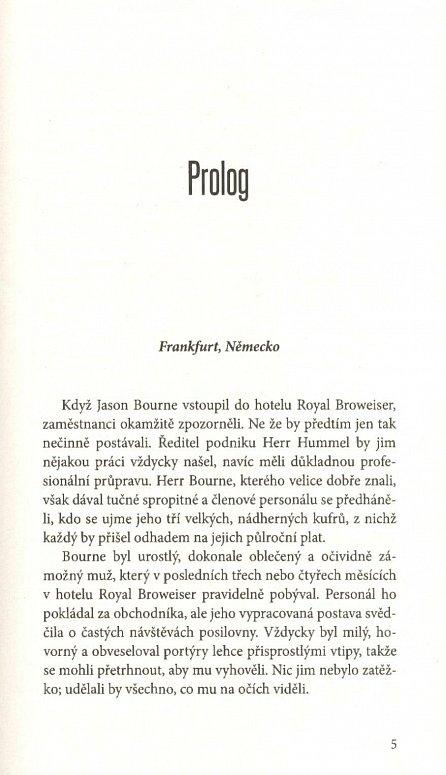 Náhled Bourneův rébus