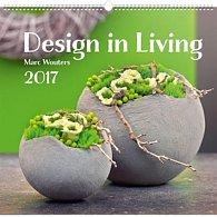 Kalendář nástěnný 2017 - Design in Living/Marc Wouters