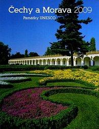 Čechy a Morava Památky UNESCO 2009 - nástěnný kalendář