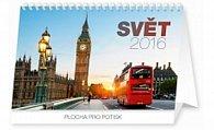 Kalendář stolní 2016 - Svět,  23,1 x 14,5 cm