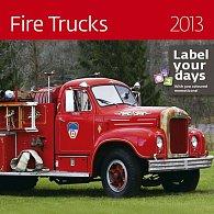 Kalendář nástěnný 2013 - Fire Trucks