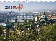 Kalendář 2013 nástěnný - Praha 18měsíční, 30 x 21 cm