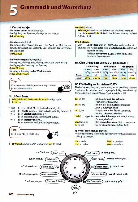 Náhled d.leicht 1 (A1) – interaktivní učebnice němčiny