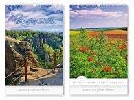 Krajiny 2016 - nástěnný kalendář