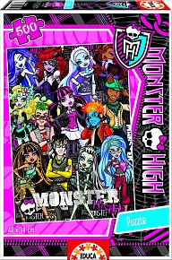 Puzzle Monster High 500 dílků