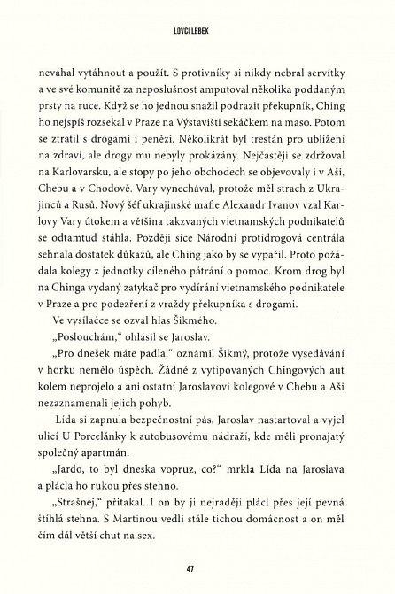 Náhled Lovci lebek - Český thriller z prostředí speciální pátrací jednotky