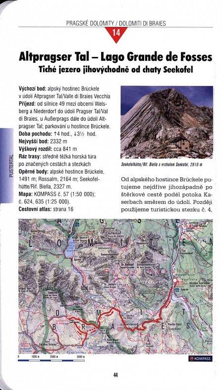 Náhled Dolomity - velký tur. průvodce  NKOM