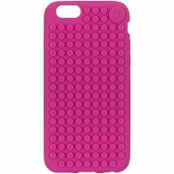 iPhone 6/6s Pixel Case fuchsiová