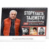 Kalendář stolní 2017 - Stopy, fakta, tajemství/Stanislav Motl