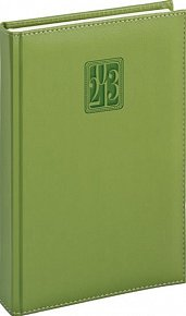 Diář 2013 - Grande - Denní B6, zelená, 11 x 17 cm