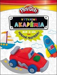 Play-Doh Výtvarná akadémia Urob si sám dopravné prodtriedky