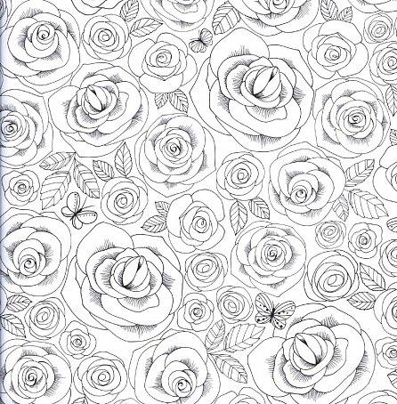 Náhled Květy radosti - Omalovánky pro dospělé
