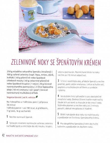 Náhled Vaříme pro miminka - Zdravý jídelníček v prvním roce života