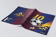 Školní sešit Fotbal A4, 52 listů - linkovaný