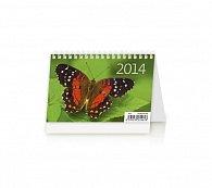 """Kalendář 2014 - Týdenní """"S"""" - stolní"""