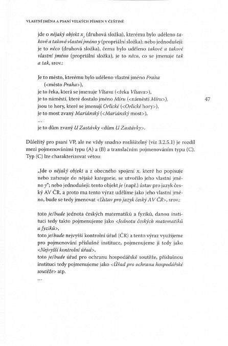 Náhled Psaní velkých písmen v češtině
