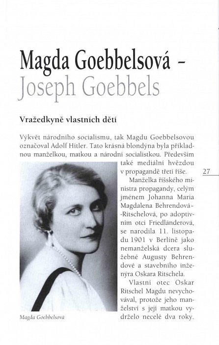 Náhled Manželky a milenky nacistických pohlavárů