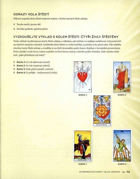 Náhled Tarot - Velký průvodce tajemstvím karet