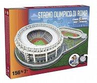 3D Puzzle Nanostad Italy - Olimpico fotbalový stadion Roma + Lazio