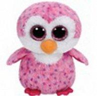 Beanie Boos Glider růžový tučňák 24 cm