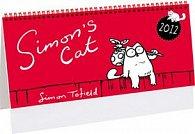 Simon´s cat 2012 - stolní kalendář
