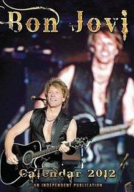 Kalendář 2012 - Bon Jovi