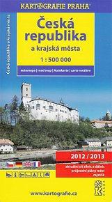Česká republika a krajská města/1:500 tis. (automapa)