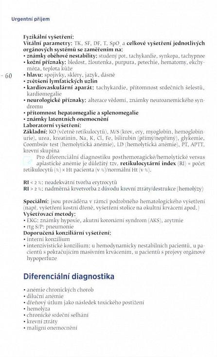 Náhled Urgentní příjem - Nejčastější znaky, příznaky a nemoci na oddělení urgentního příjmu