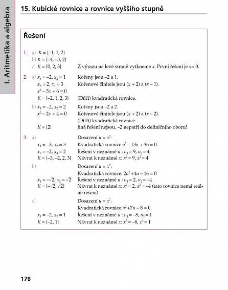 Náhled Kompendium matematiky