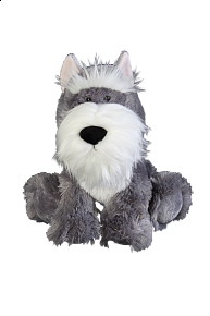 Pes plyšový knírač 30cm