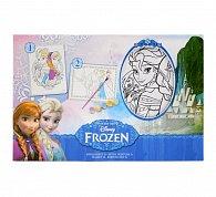 Vybarvi si svůj obrázek s rámečkem Ledové králoství 2ks
