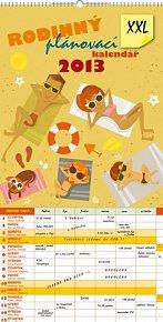 Kalendář 2013 - Rodinný plánovací XXL, 33 x 64 cm