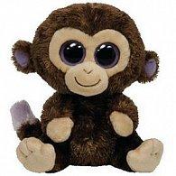 Plyš očka opice hnědá maxi