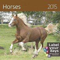 Kalendář nástěnný 2015 - Horses