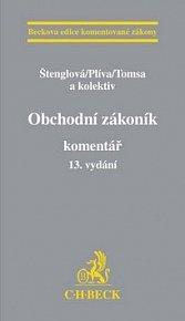 Obchodní zákoník Komentář 13. vydání