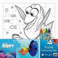 Hledá se Dory - Omalovánkové puzzle