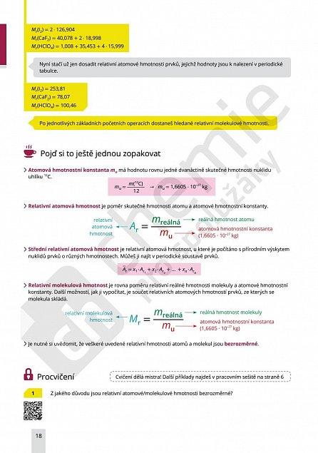 Náhled Chemie pro spolužáky: Obecná chemie II. - Učebnice