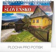 Rozprávkové Slovensko - stolový kalendár 2017