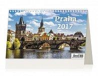 Kalendář stolní 2017 - Praha