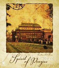 Kalendář nástěnný 2012 - Spirit of Prague (Cristia