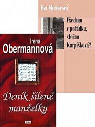 Balíček 2ks Deník šílené manželky + Všechno v pořádku, slečno Karpišková?
