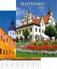 Slovensko 2016 - nástěnný kalendář