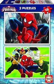 Puzzle Spider-Man 2v1 48 dílků