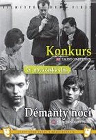 Konkurs/Démanty noci - (2 filmy na 1 disku) - DVD box