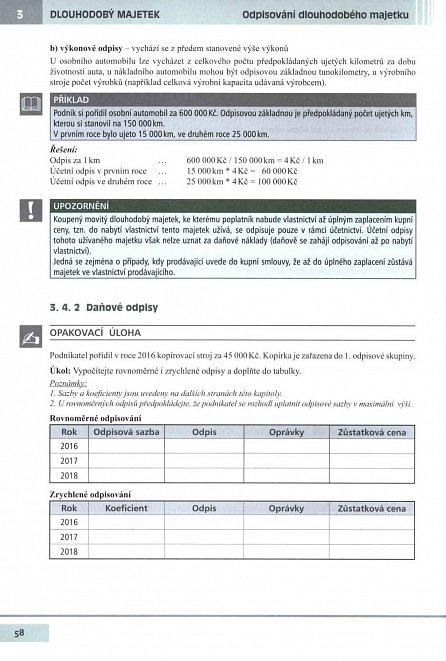 Náhled Učebnice Účetnictví II. díl 2016