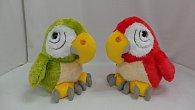 Papoušek plyšový 13 cm