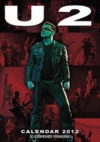 Kalendář 2012 - U2