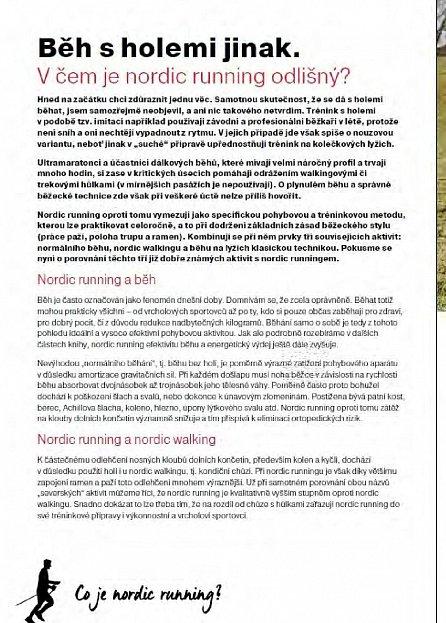 Náhled Nordic Running - Běh s holemi jako zdravější a efektivnější způsob běhání