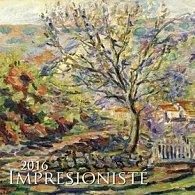 Impresionisté 2016 - nástěnný kalendář