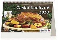 Kalendář stolní 2020 - Česká kuchyně